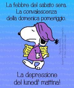 Lunedì mattina..Che depressione!