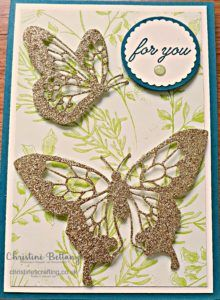 Butterflies Just For Me – Christine's Crafting by Christine Bettany