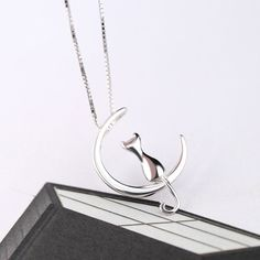 Kohls mystery offer coupon code save up to 40 off online order du you love cats own one very special one or have a friend family member who does this is the best most pretty and mysterious cat moon necklace to wear fandeluxe Images