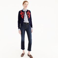 J-Crew-Lightweight-wool-Jackie-cardigan-with-embroidery