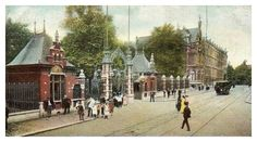 Kruisstraat ingang diergaarde