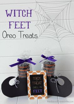 Witch Feet Oreo Treats | TORIng America © | 2013  Read more at: http://toringamerica.com/witch-feet-oreo-treats/ | TORIng America © | 2013