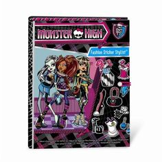 Gigantic Collection Of Gift Ideas For Tween Girls | Monster High Sticker Stylist Book