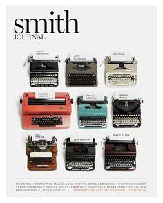vintage typewriter collection