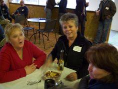 (left to right) Karen Douglas, Pam Foote, Robin Cherrington