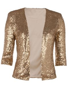 Nwt sequin blazer w/back vent opening..2 color choices..only size ...