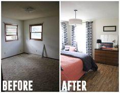 Modern Master Bedroom Redesign