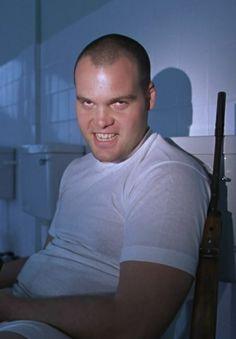 """Vincent D'Onofrio in """"Full Metal Jacket"""" (1987). DIRECTOR: Stanley Kubrick."""