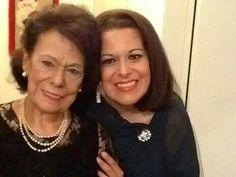 Mamãe e Adriane, irmã caçula.