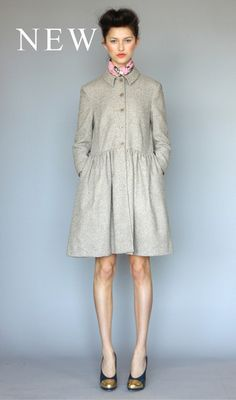 coat dress - unless you're thin, don't even attempt this; you'll look huge.