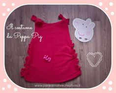 Il Costume di Peppa Pig senza cuciture