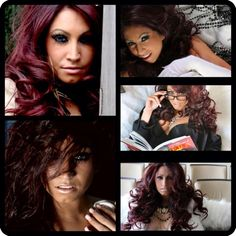 Tracy DiMarco from Jerseylicious...i want her friggen haaaiirr.!!!!