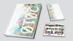 Theme: Watercolour Yearbook Cover Idea and Theme