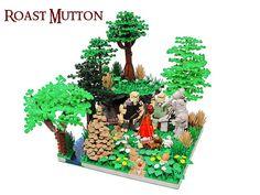 ~ Lego MOCs Fantasy ~ Roast Mutton