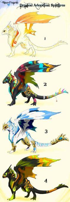 multiple dragons