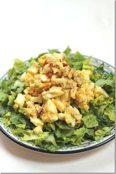 Curry Egg Salad [Yes, I want cake]