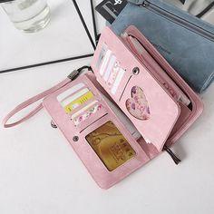 Large Pocket Casual Tote Women's Handbag Shoulder Handbags Canvas Leather Capacity Bags For Women Leather Purses, Pu Leather, Leather Wallet, Canvas Leather, Photo Bag, Pocket Cards, Small Handbags, Kids Bags, Womens Purses