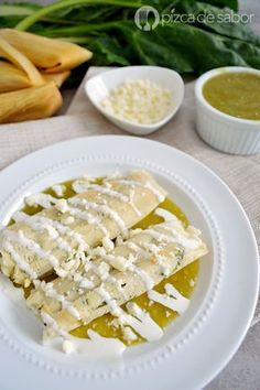 Tamales de acelgas con queso (fáciles de preparar) www.pizcadesabor.com
