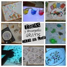 Science Projects For Kids, Light Panel, Ideas Para, Homeschool, Activities, Frame, Home Decor, Play, Table