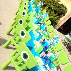 Monster's Inc Birthday Party Ideas | Photo 9 of 16 | Catch My Party