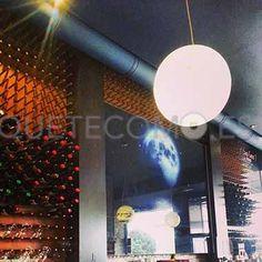 Interior | Restaurante vinoteca Nova Lúa Chea en A Coruña
