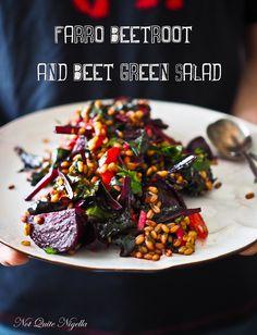 Farro Beetroot Salad