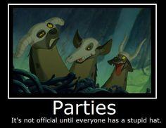 The Lion King- Parties by MasterOf4Elements.deviantart.com on @DeviantArt