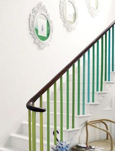 How+to+Dress+Up+a+Staircase+via+@PureWow