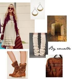 """""""Free people-Rustic"""" by emalbe on Polyvore"""