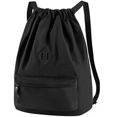 E SPORTS BAG - Featured by drawstring opening, not only makes you quickly access your needed things, but also ensures the maximum safety for your valuables. Gym Backpack, Luggage Backpack, Drawstring Backpack, Black Backpack, Unisex, Shoulder Bags For School, Sack Bag, Yoga, Herschel Heritage Backpack