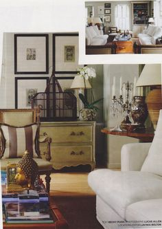 Living room - colonial feel - works with our existing furniture