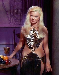 Lois Jewell as Drusilla in the original Star Trek series: Season 2 Episode 25.....Bread And Circuses.