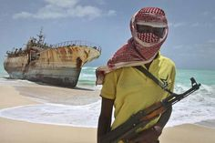 Off the coast of #Somalia, a #sailor on board the #French #ship Sirocco observes two dhows through binoculars, establishing they are both bona fide fishing vessels.  The presence of an international armada and the deterrents put in place by shipping companies have reduced piracy off the Somali coast and in the #Gulf of Aden to practically nothing. But the threat is still very present.  #Puntland #World #News #Dunya #TV #Somali #People