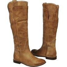 Frye Paige tall riding boots in tan