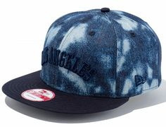 Los Angeles Tie Dye Denim Snapback Cap by NEW ERA