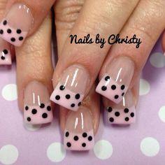 Polka Dot Art, Polka Dot Nails, Spring Nails, Summer Nails, Toe Nail Designs, Toe Nails, Pretty Little, Pretty Nails, Pedicure
