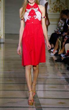 Valentina Sleeveless Dress by Vivetta for Preorder on Moda Operandi