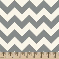 $3.72 at Walmart - Springs Creative Chevron Grey Fabric by the Yard
