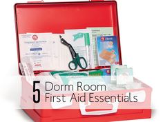 5 Essential Items for Your Dorm First Aid Kit