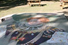 Chalk drawing at Bristol Renaissance Faire in Kenosha, WI