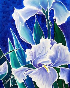 Iris Greeting Card for Sale by Francine Dufour Jones