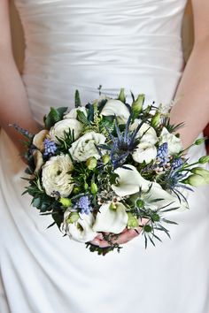 Scottish Wedding Bouquet @Stephany Hsiao McCalester
