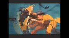 Tarzan The Baboons attack Jane polish reversed - YouTube