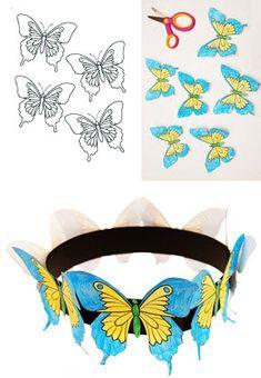 Papillons a imprimer