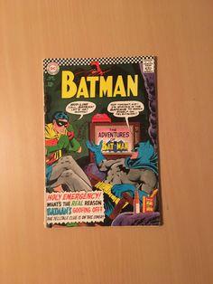 Batman (1940) #183 GD/VG by OldGothamComics on Etsy Batman Comics, Gd, Cover, Etsy