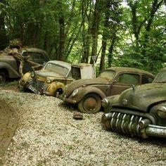 Een autokerkhof met de naam New York - Klassiekerweb