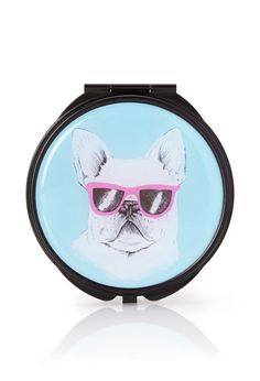 French Bulldog Mirror Compact