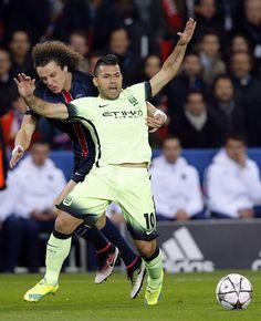 David Luiz toma o cartão amarelo mais rápido da história da Champions #globoesporte
