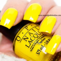 OPI - Good Greif || Must have. This is so much brighter than the OPI yellow I already have.