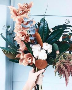 Your very first decision ought to be whether you plan to utilize a professional flower shop to produce a wedding flower arrangement and bouquets. Floral Wedding, Wedding Bouquets, Modern Wedding Flowers, Flower Bouquets, Orchid Color, Fleurs Diy, Deco Floral, Art Floral, Flower Aesthetic